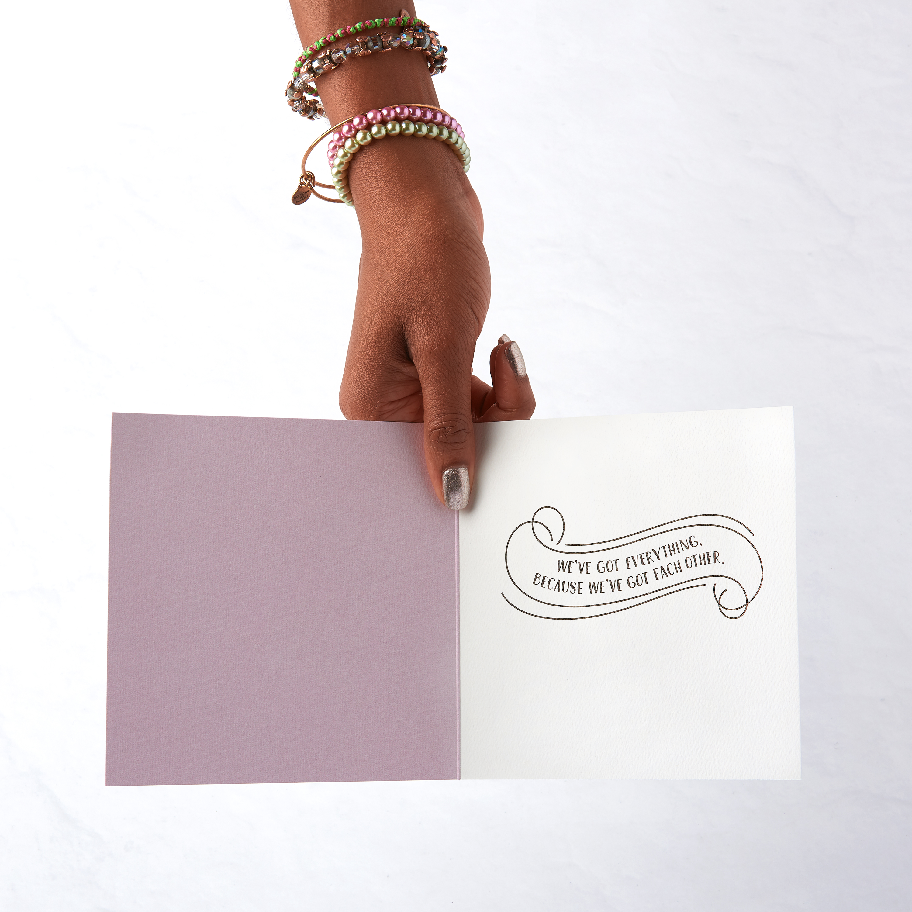 You & Me Greeting Card - Romantic, Thinking of You, Anniversary image