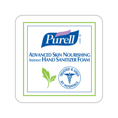 Dispenser Label - PURELL® Advanced Green Certified Instant Hand Sanitizer