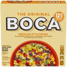 Boca Mexican Style Black Bean 9 oz Box