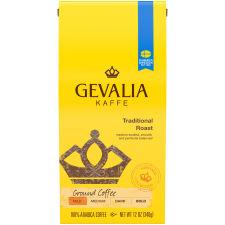 Gevalia Traditional Roast Ground Coffee, 12 oz Bag