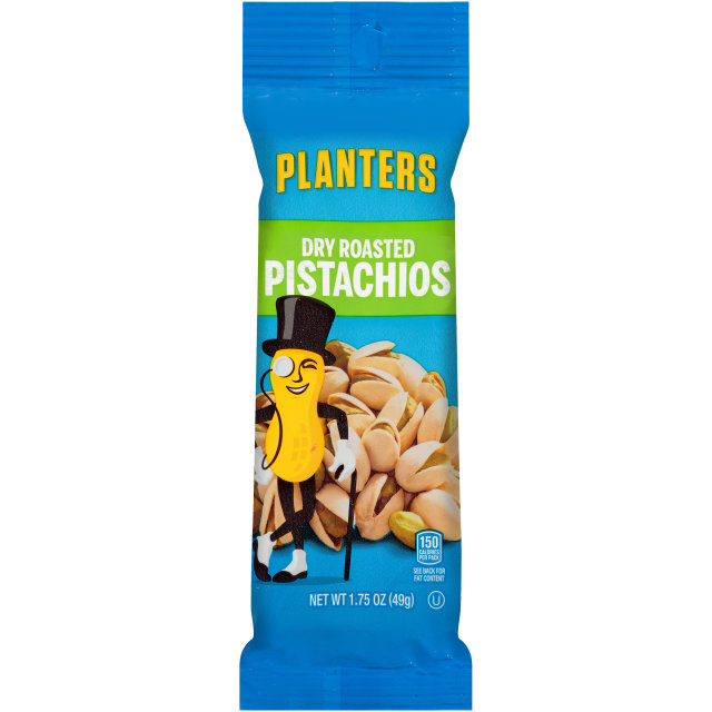 PLANTERS Dry Roasted Pistachios 1.75 oz Bag