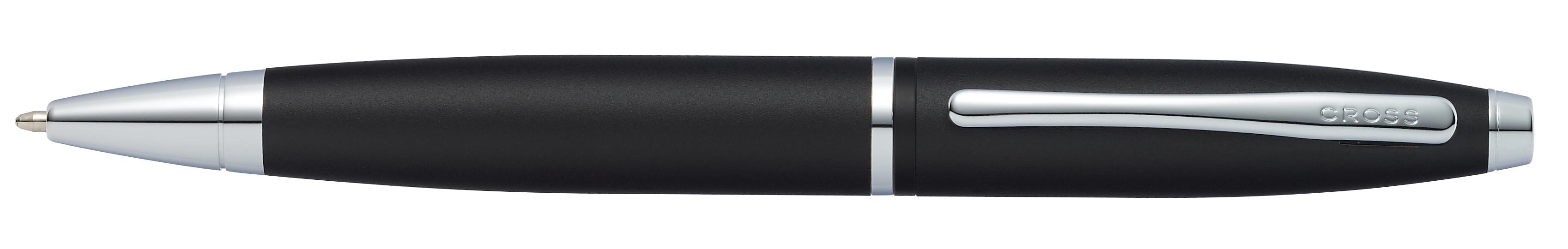 Calais Matte Black Ballpoint Pen