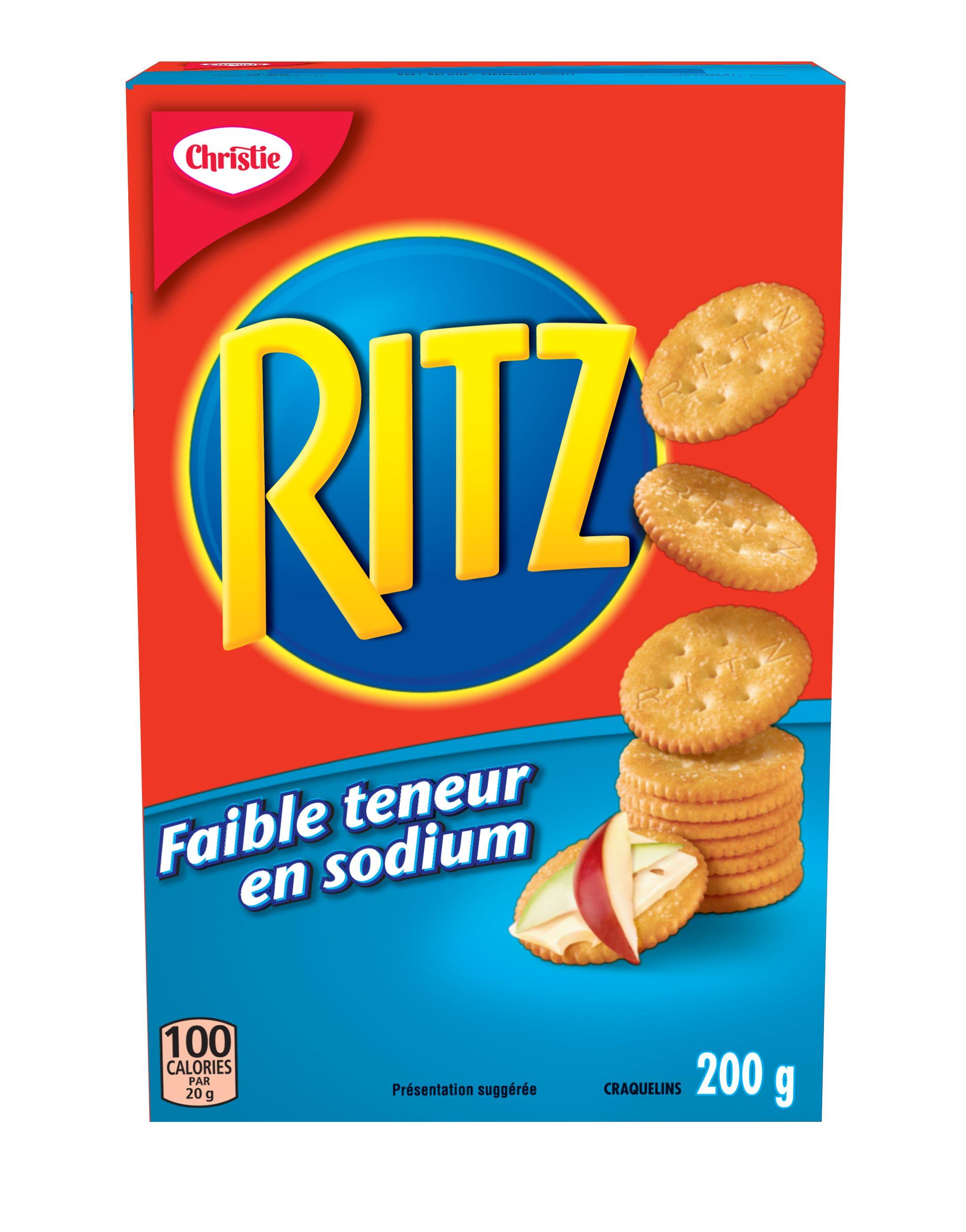 Craquelins Ritz Faible Teneur En Sodium 200 G