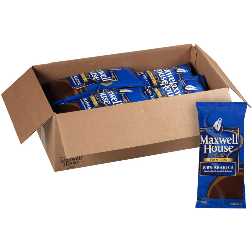 MAXWELL HOUSE 100% Arabica Freeze-Dried Coffee, 8 oz. Bag (Pack of 8)