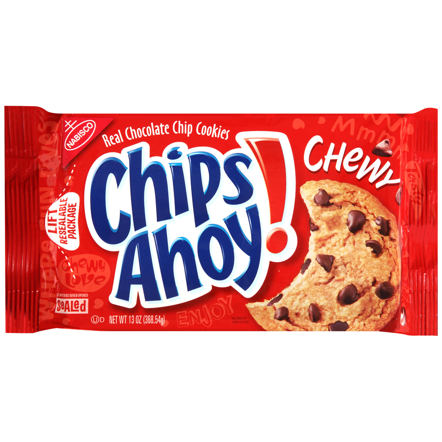 CHIPS AHOY! Chewy Chewy Cookies 13 oz