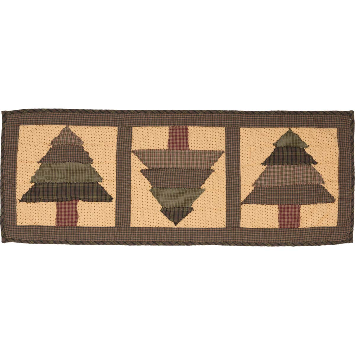 Sequoia Quilted Runner 13x36