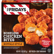 T.G.I. Friday's Buffalo Style Boneless Chicken Bites 15 oz Box