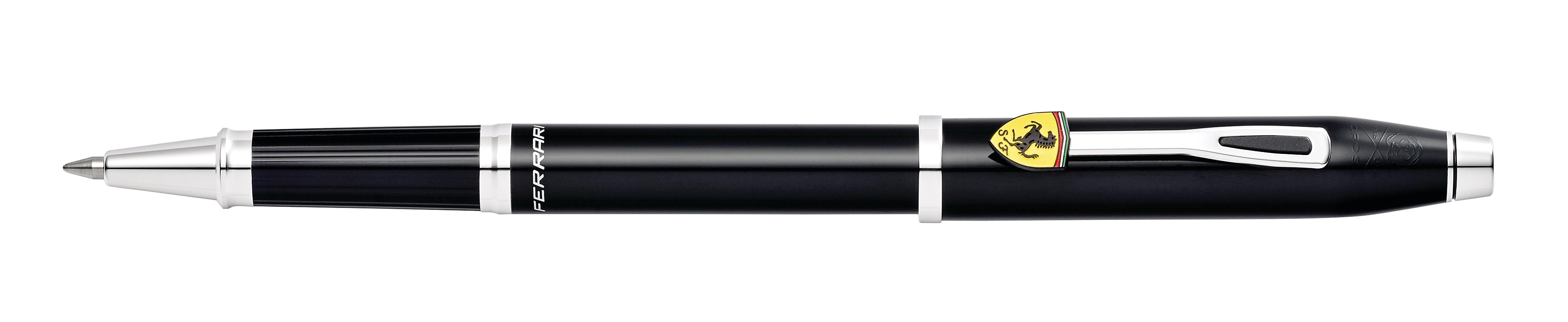 Cross Century II Collection for Scuderia Ferrari Glossy Black Lacquer Rollerball Pen