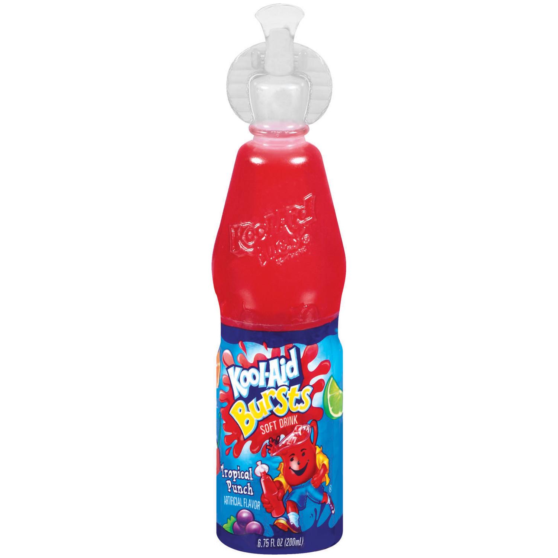 Kool-Aid Bursts Tropical Punch Soft Drink - 6.75 fl oz Bottle image