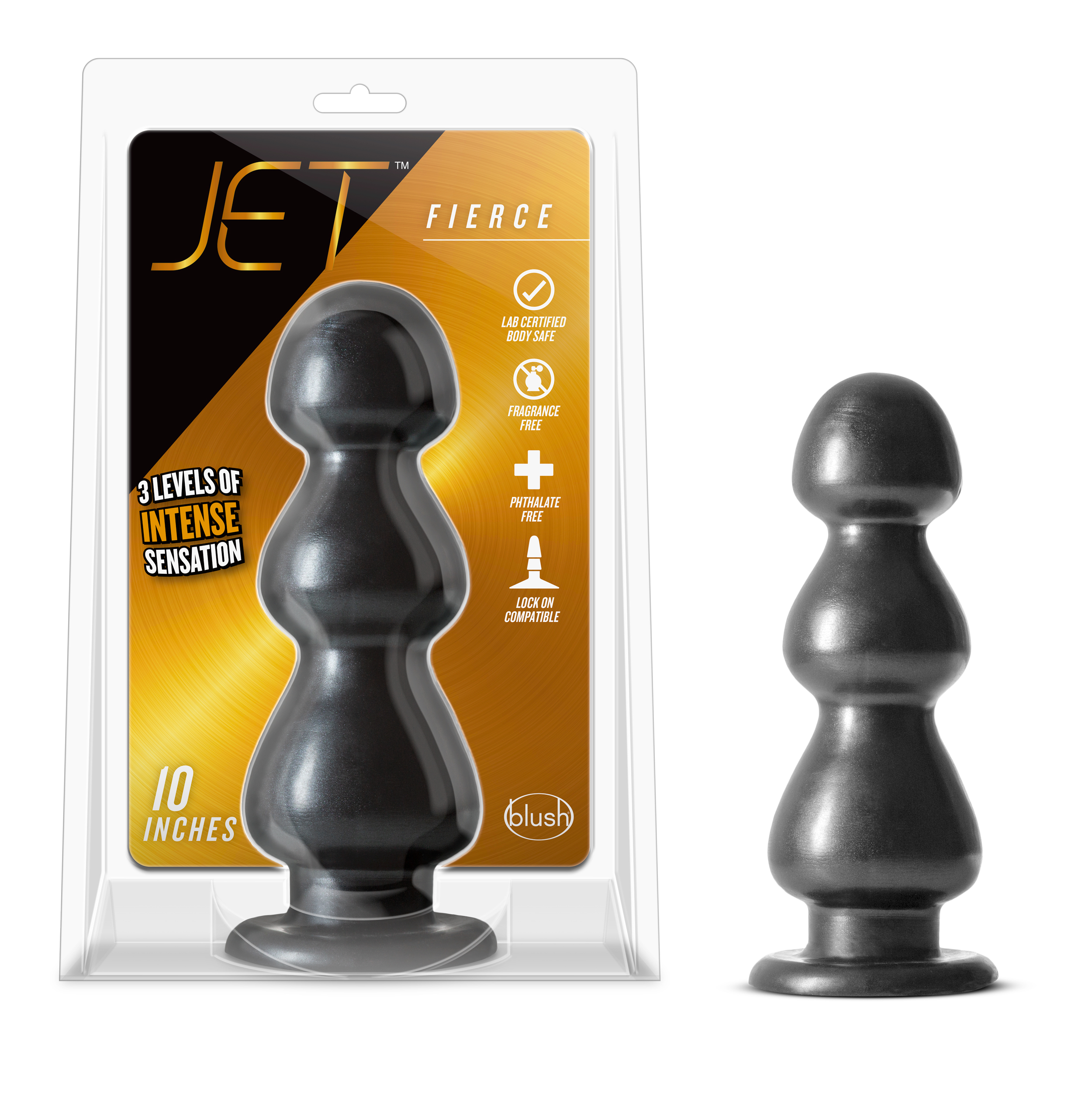 Jet - Fierce - Carbon Metallic Black