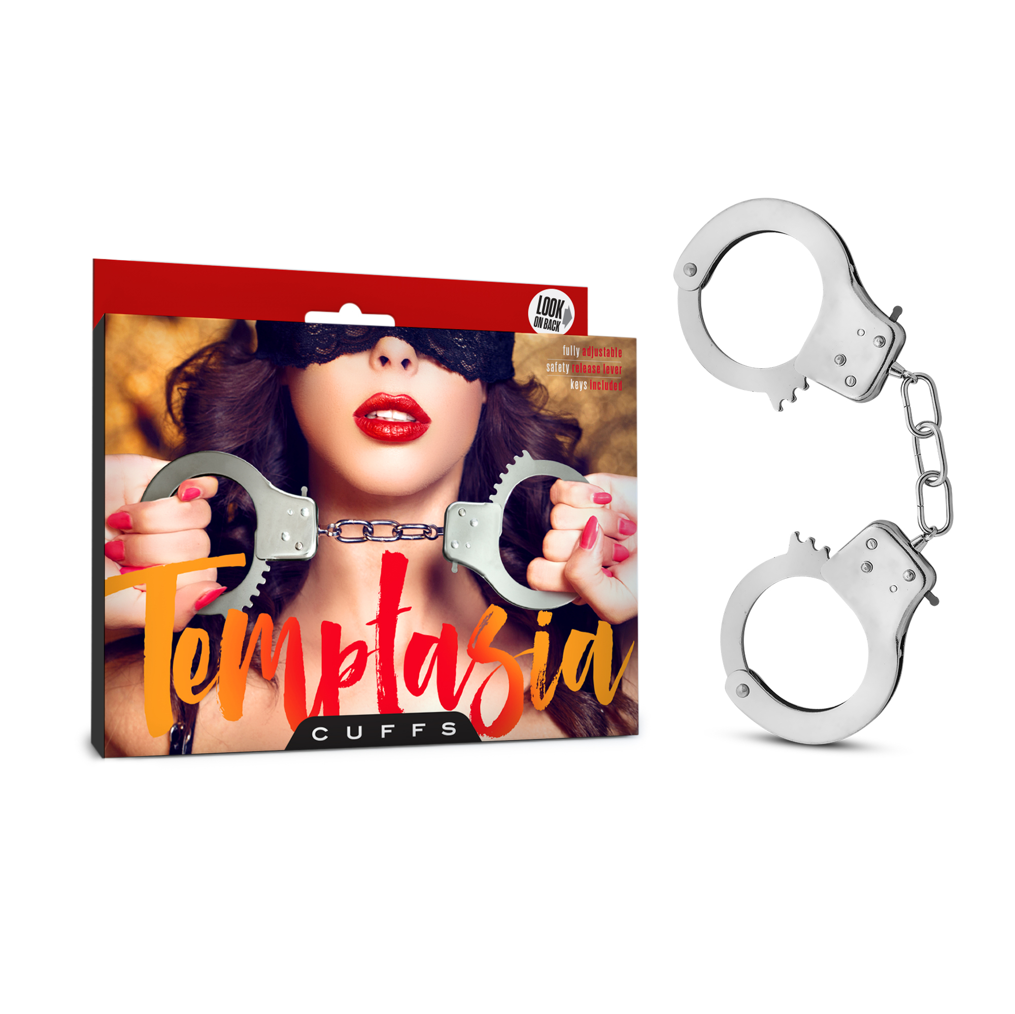 Temptasia - Cuffs - Silver
