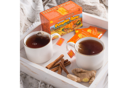Pumpkin Spice Tea - Case of 6 Boxes - total of 120 teabags