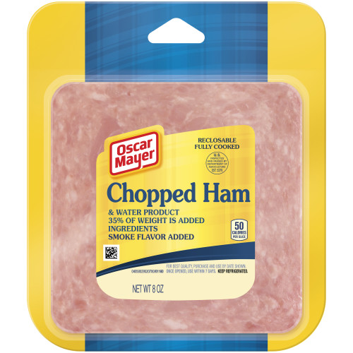 OSCAR MAYER Chopped Ham 8oz