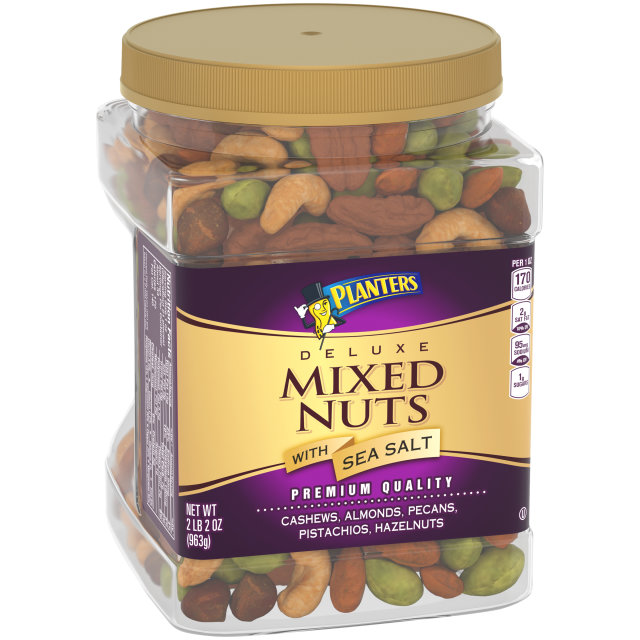 PLANTERS Deluxe Mixed Nuts 34 oz Jar