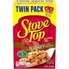 Kraft Stove Top Stuffing Mix for Turkey 12 oz Box