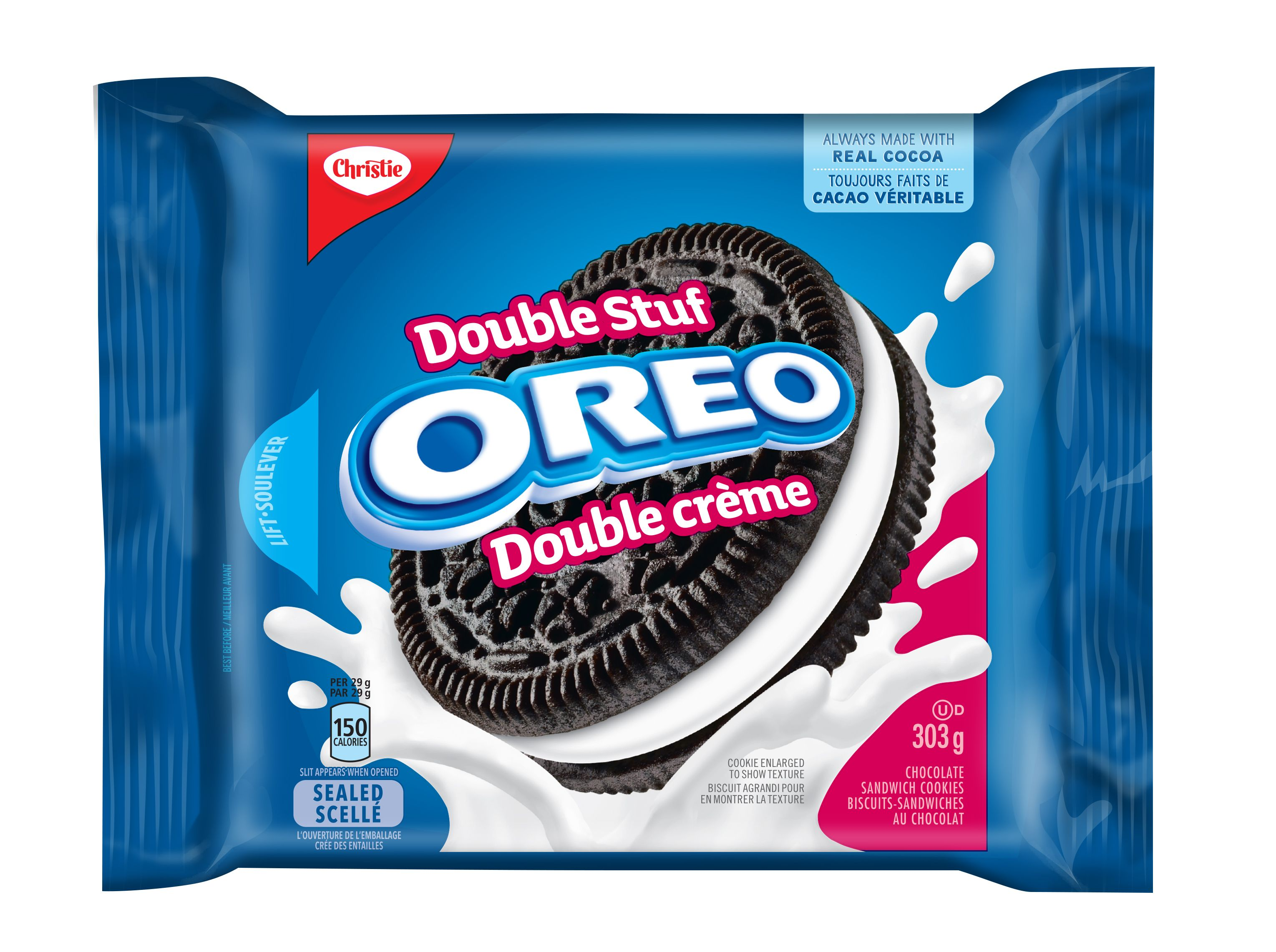 Oreo Double Stuf Double Stuf Biscuits 303 G