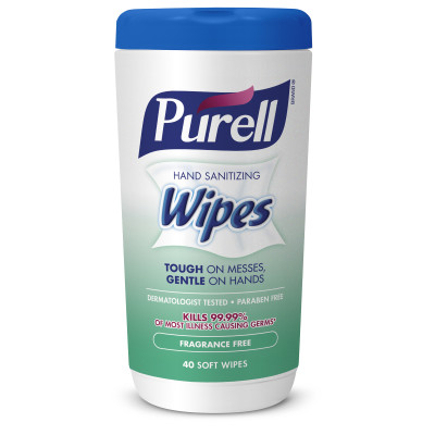PURELL® Hand Sanitizing Wipes Fragrance Free