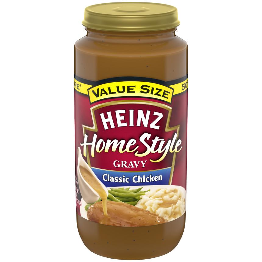 Heinz Home Style Classic Chicken Gravy 18 oz. Jar