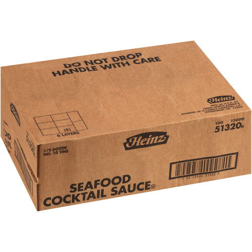 HEINZ Cocktail Sauce #10 Can, 7.2 lb. (Pack of 6)