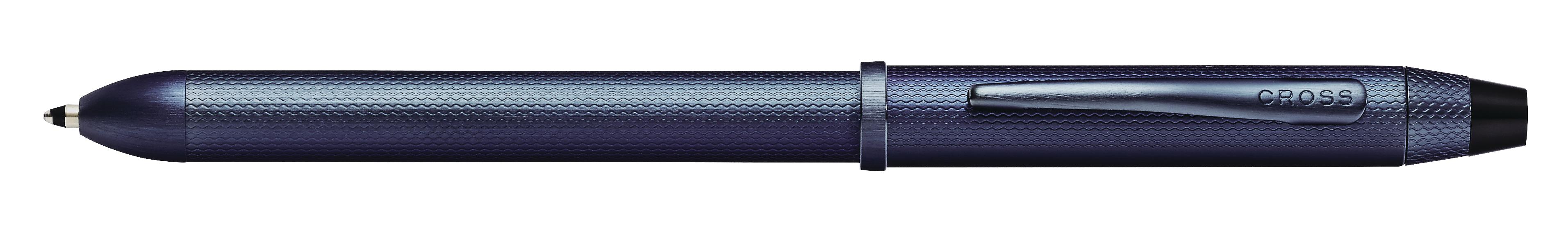 Tech3+ Dark Blue PVD Multifunction Pen