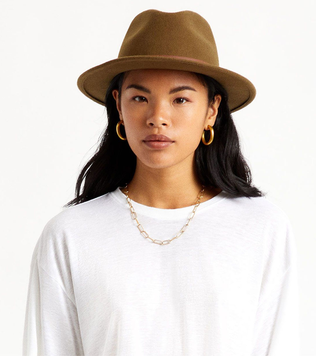 Women's Medium-Brim Fedoras