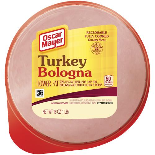 Oscar Mayer Turkey Bologna, 16 oz