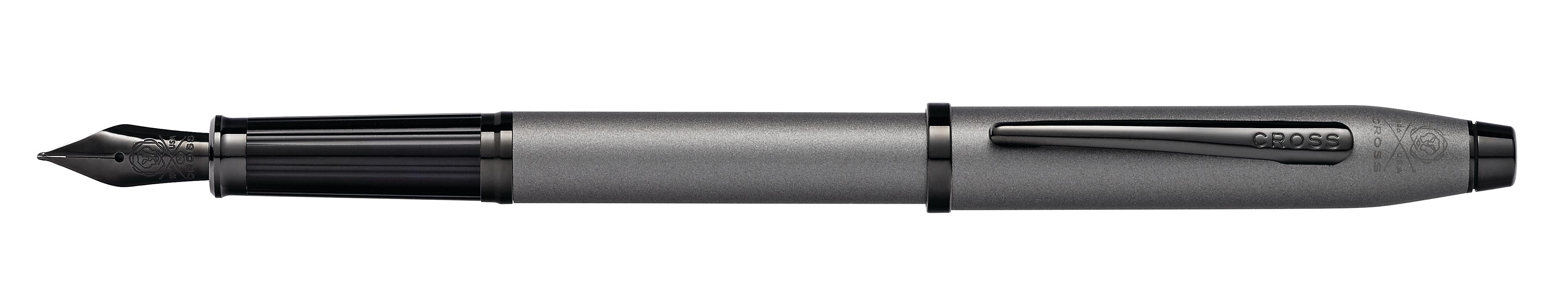 Century II Gunmetal Gray Fountain Pen