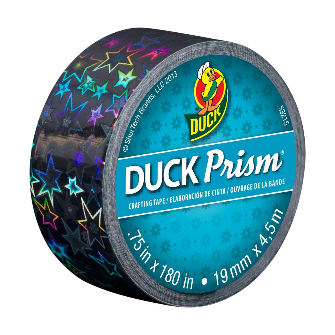 Ducklings® Prism® Crafting Tape - Stars, .75 in. x 180 in. Image