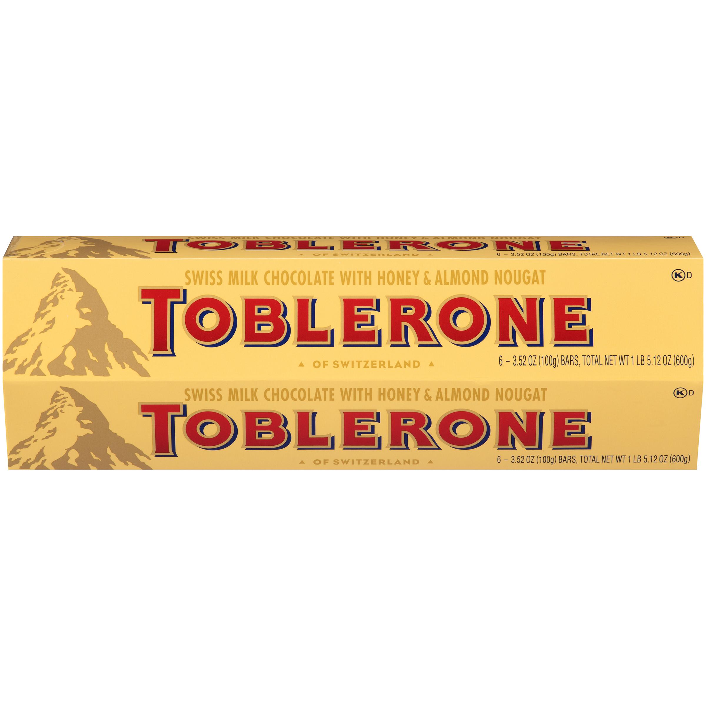 TOBLERONE Milk Chocolate Chocolate Bar 21.16 oz