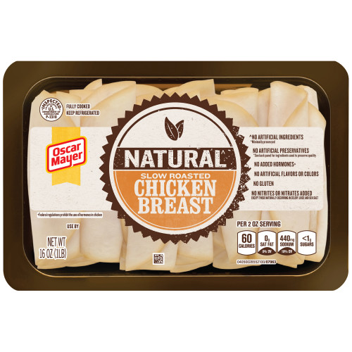 Oscar Mayer Natural Chicken Breast Tray, 16 oz