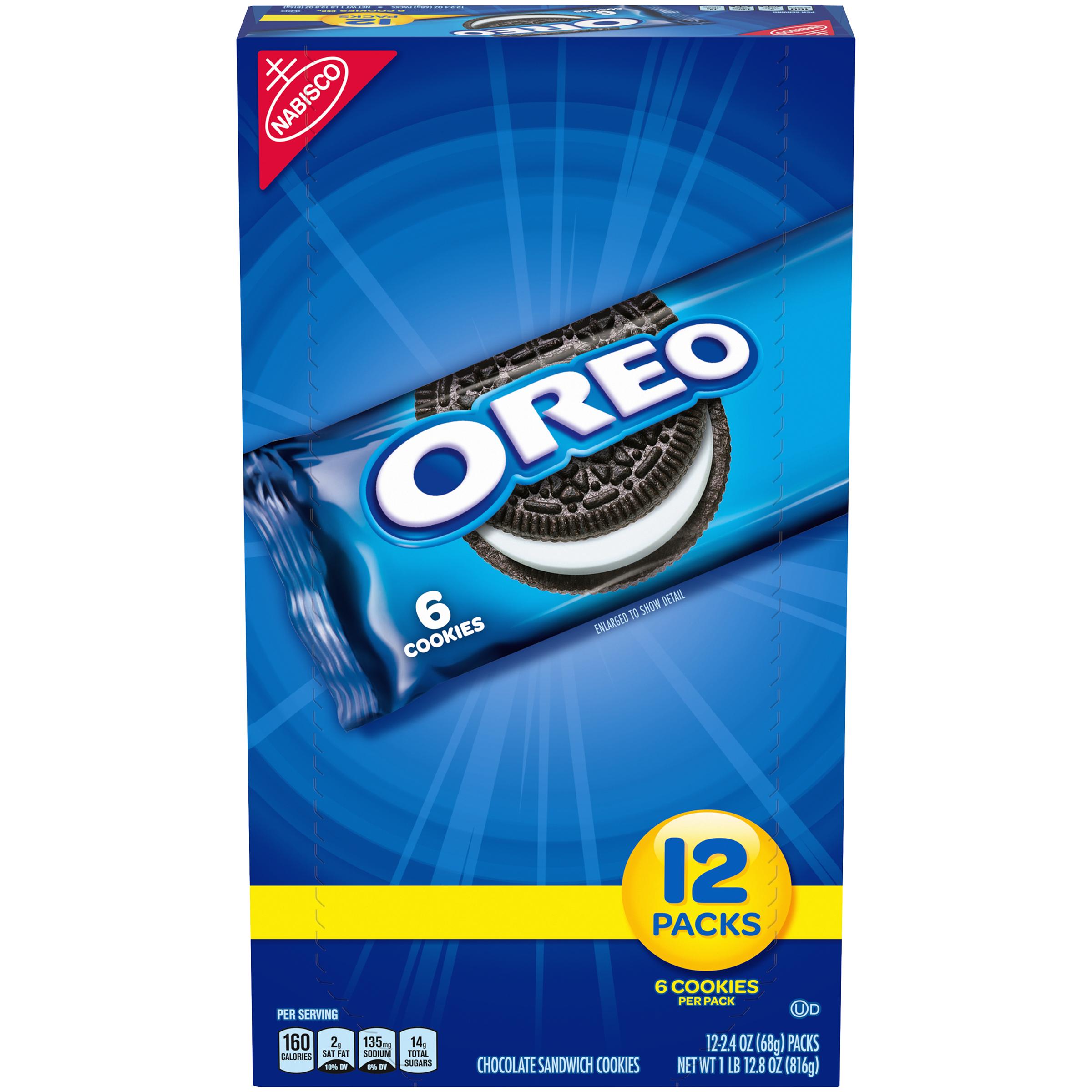 OREO Chocolate Cookies-Single Serve 28.8 oz