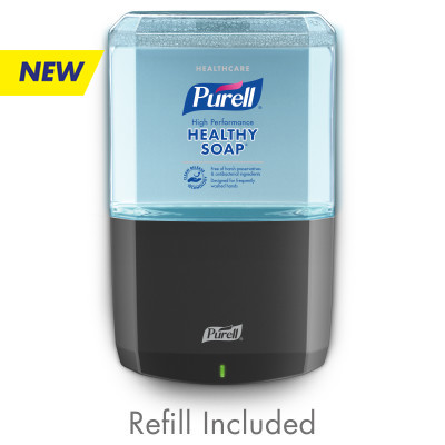 PURELL® Foodservice CRT HEALTHY SOAP™ Active Cleansing Fragrance Free Foam ES6 Starter Kit