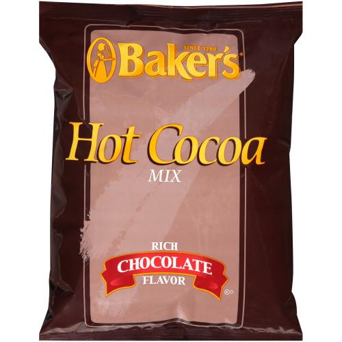 BAKER'S Bulk Hot Cocoa Mix, 2 lb. Bag (Pack of 12)