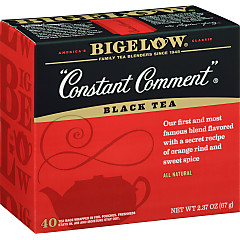 Constant Comment Tea 40 Count - Case of 6 boxes- total of 240 teabags