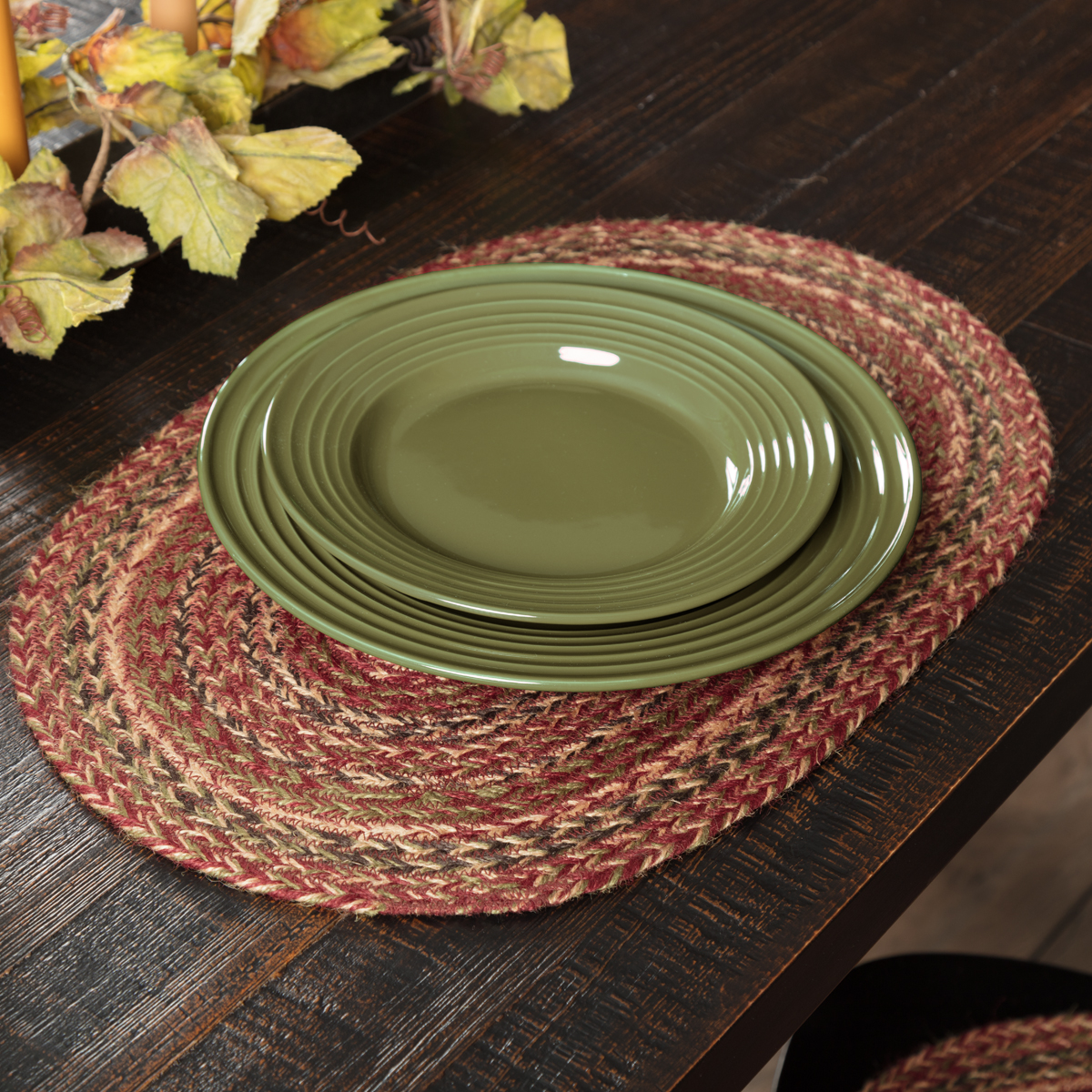 Cider Mill Jute Placemat Set of 6 12x18