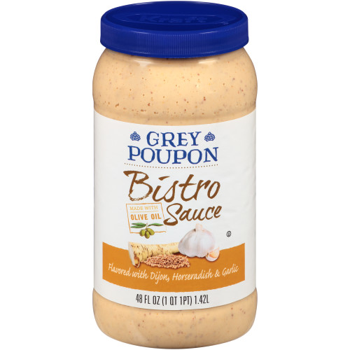 GREY POUPON Bistro Sauce, 48 oz. Jar (Pack of 4)