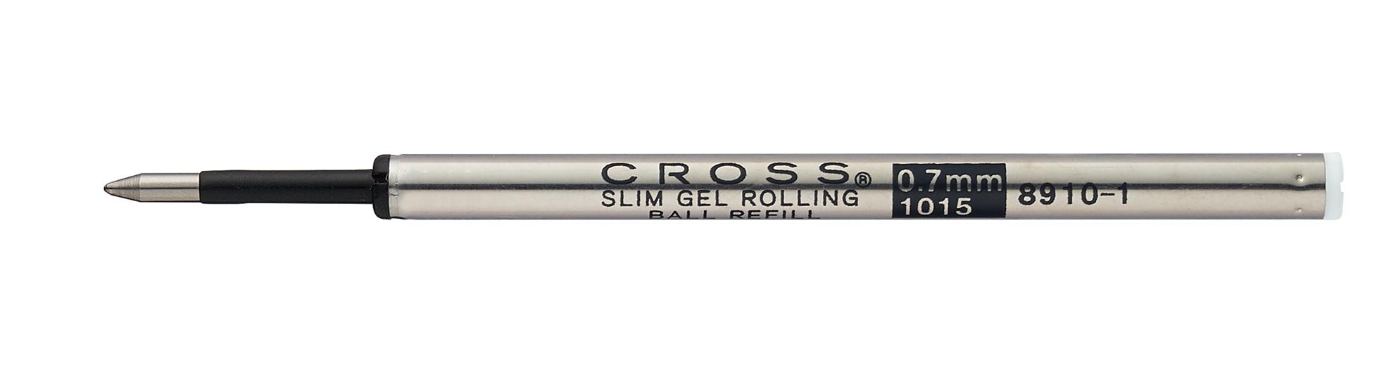 Slim Gel Rollerball Pen Refill - Black - Single Pack
