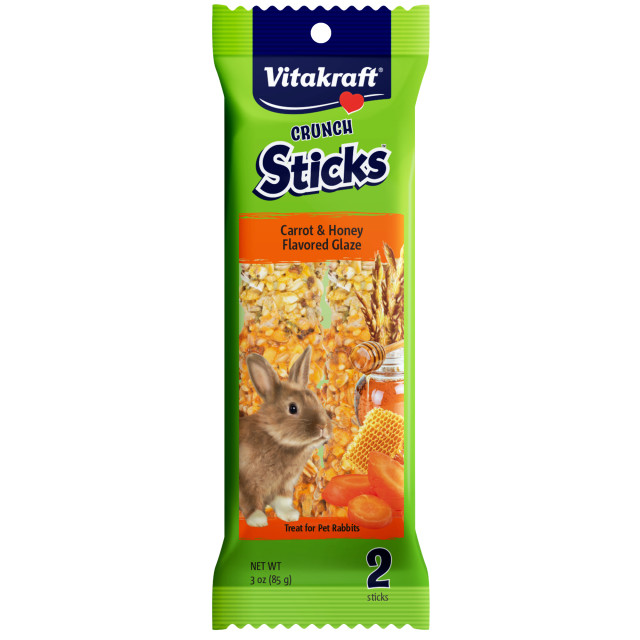 Product-Image showing Crunch Sticks Carrot & Honey Flavored Glaze