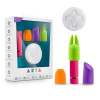 Aria - Vitality - Rechargeable Bullet Kit With Wireless Remote - Cerise