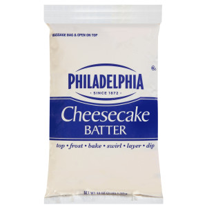PHILADELPHIA Cheesecake Batter, 3 lb. Pouch (Pack of 4) image
