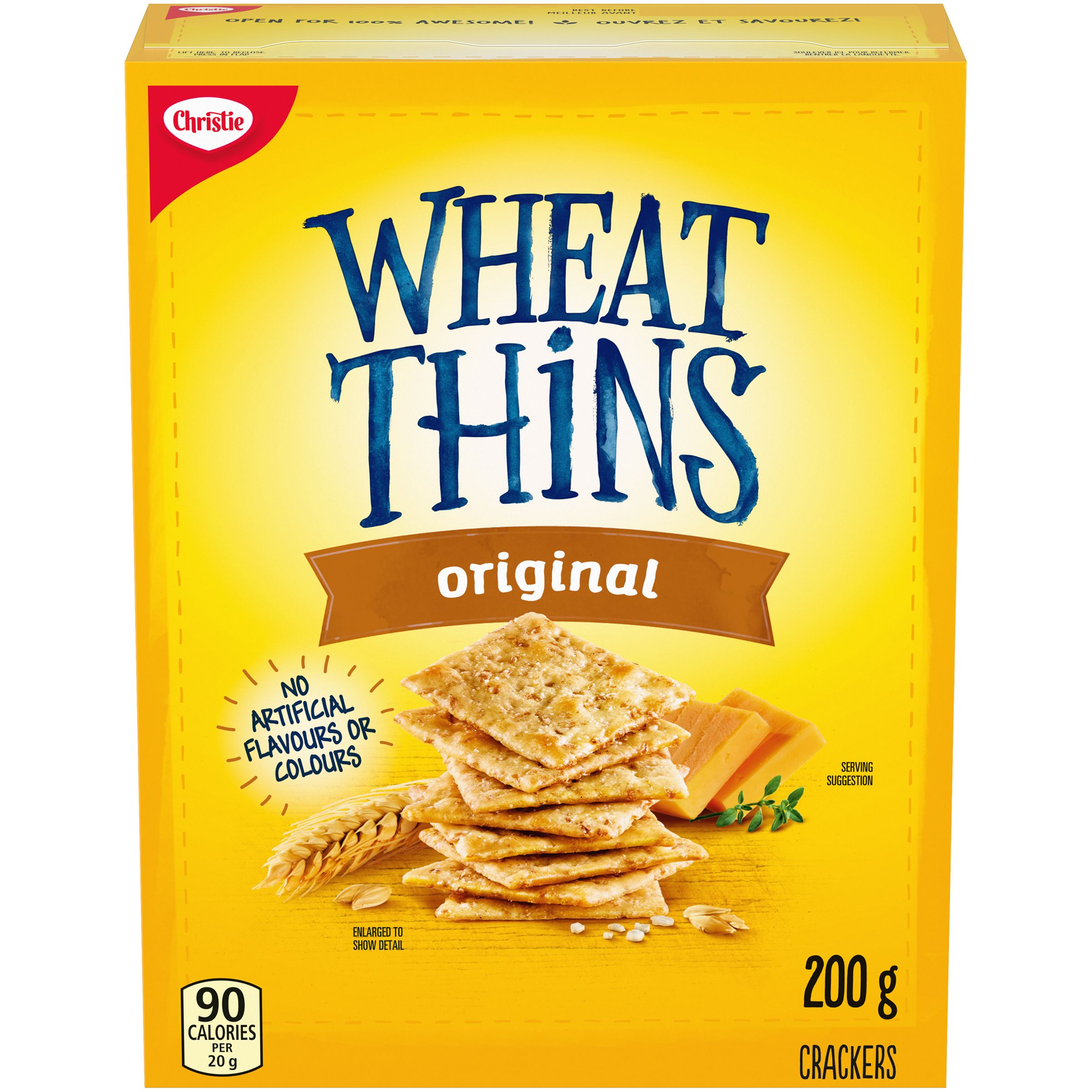 Wheat Thins Original Craquelins 200 G