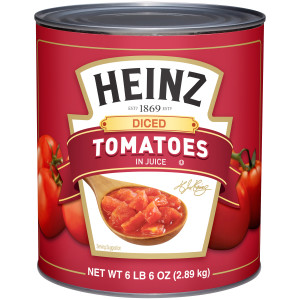 Heinz Diced Tomatoes Tin, 6 lb. image