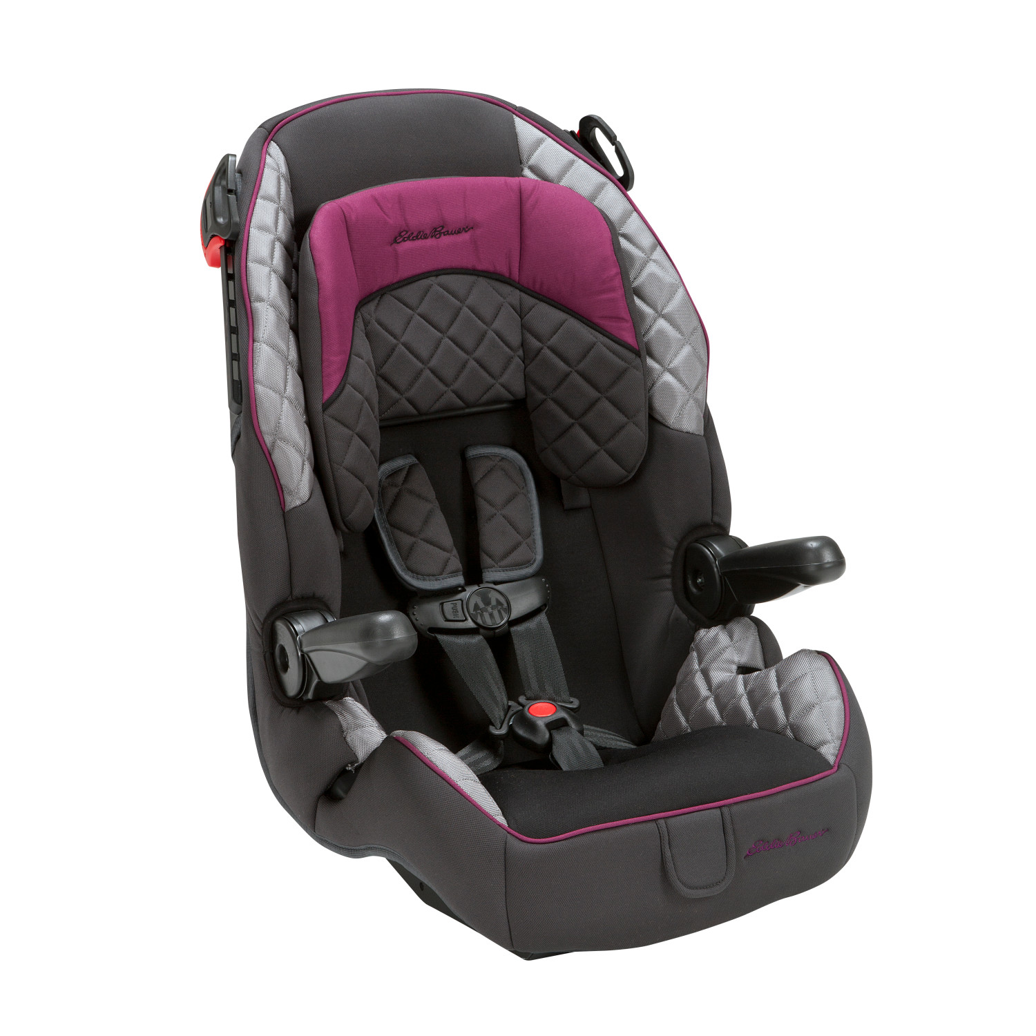 eddie bauer deluxe harness 65 booster car seat ebay. Black Bedroom Furniture Sets. Home Design Ideas