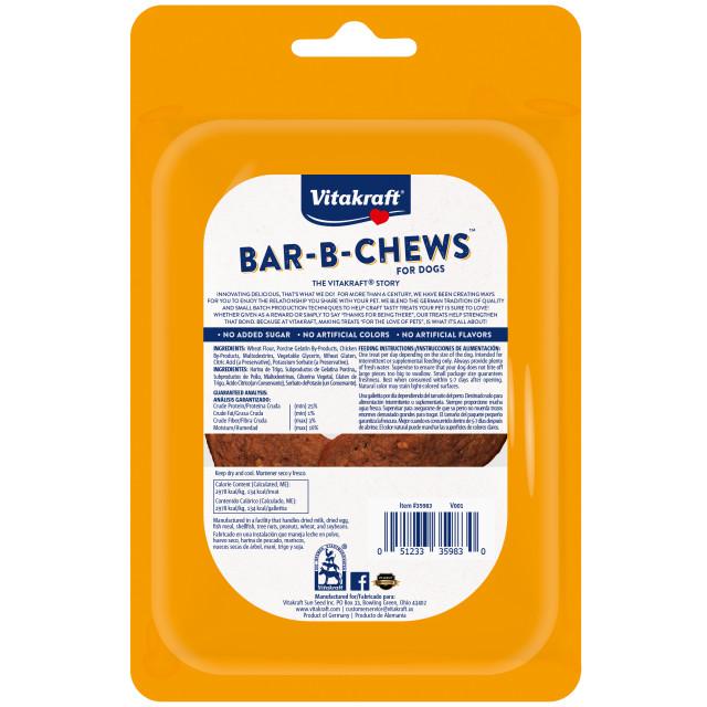 Back-Image showing Bar-B-Chews™ Fillets, 2 Pack
