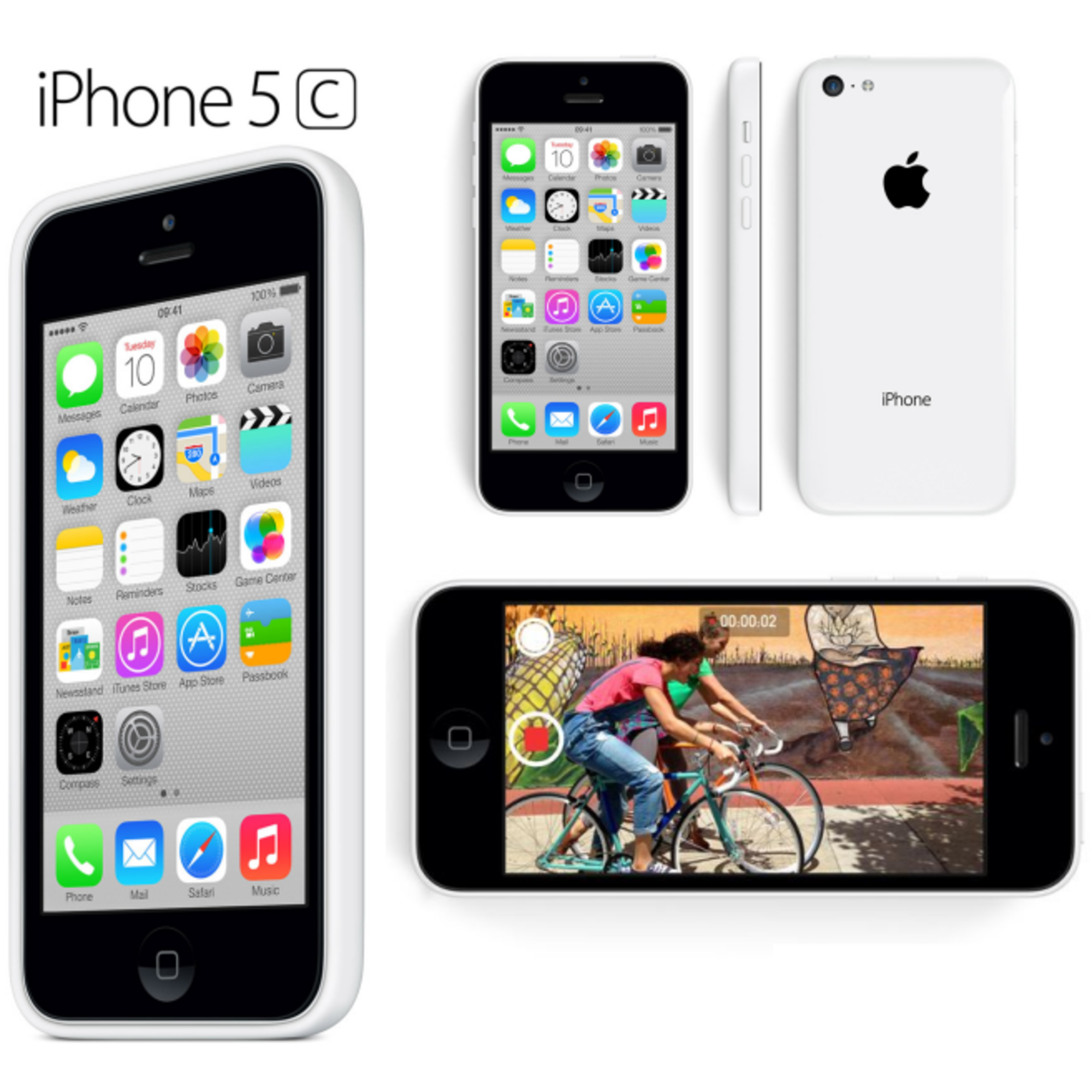 apple iphone 5c 8gb factory unlocked gsm 4g lte 8mp camera. Black Bedroom Furniture Sets. Home Design Ideas