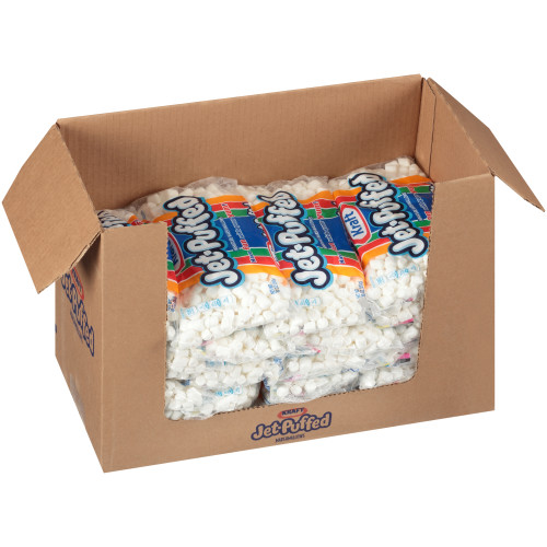 JET-PUFFED Mini Marshmallows, 10 oz. Bag (Pack of 24)