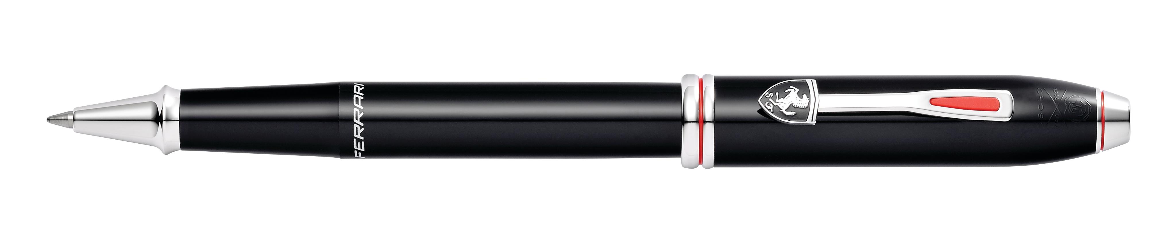 Cross Townsend Collection for Scuderia Ferrari Glossy Black Lacquer Rollerball Pen