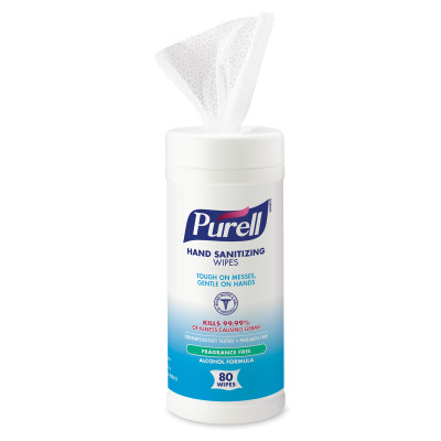 PURELL® Hand Sanitizing Wipes Alcohol Formula