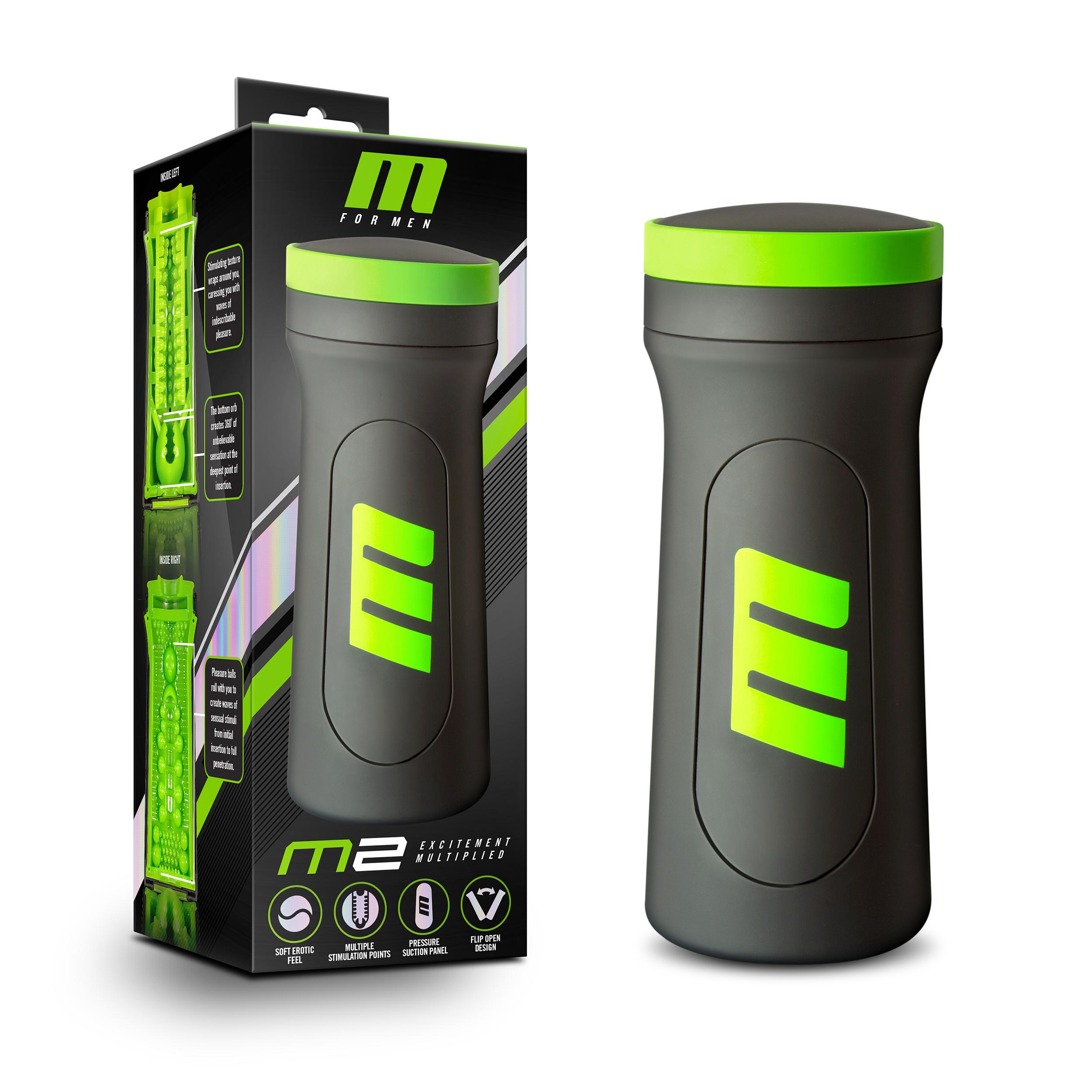 M for Men - M2 - Superior Stroker - Black