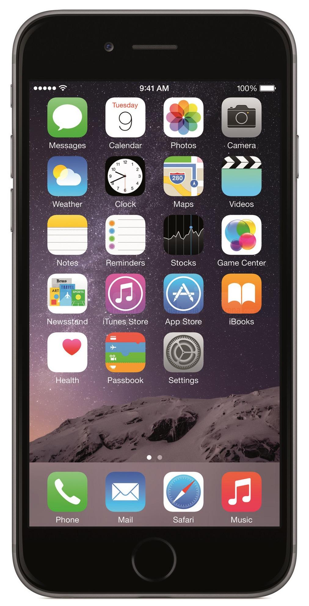 apple iphone 6 128gb unlocked gsm 4g lte ios 8 dual core. Black Bedroom Furniture Sets. Home Design Ideas